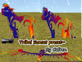 Tribal Sunset Presets by CafrenChan