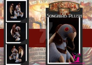 Bioshock Infinite - Songbird Plush by FurryFursuitMaker