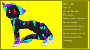 Millie Reference Sheet .:2012:. by Aruku-Pear
