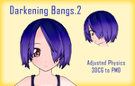 MMD- Darkening Bangs.2 -DL by MMDFakewings18