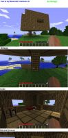 MineCraft Treehouse by Koragg1