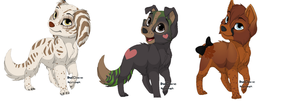 Puppy Adoptable Batch OPEN by honeiipop