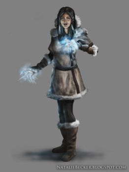 Arctic Mage by Natalie-Becker