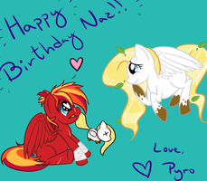 Happy Birthday Naz! by 3vilpyro