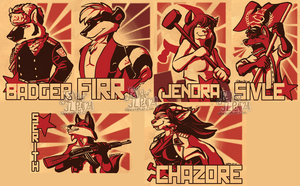 Con:Red Badge - Batch 4 by Eevachu
