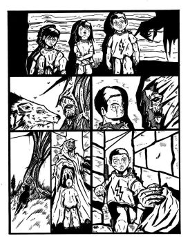Comic Page little project by fernandosolano