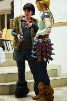 Picacon03 - Hiccup and Astrid by Kozekito
