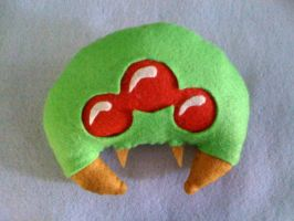 Metroid Plushie by Red-Flare