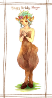 Faun!Levy by blanania