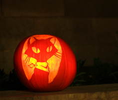 ghost trick jack o'lantern by Surf-cat