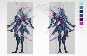 insectoid char sheet by steelsuit