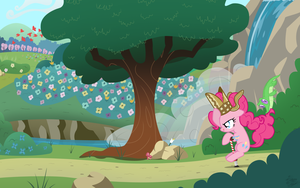 Pinkie's Pogostick Adventure by FacelessJr