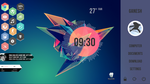 Desktop Rainmeter by vinayakv3125