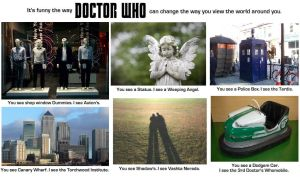 Doctor Who - Changing your view of the World by DoctorWhoOne