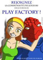 Play Factory Advert by kendrawer