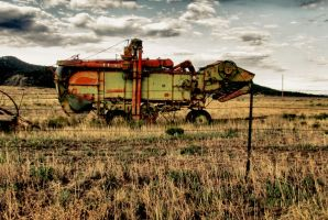 Old Farm Equipment HDR by whendt
