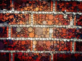 Mosaic Wall by trickytreater