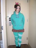Wreck-It Ralph Vanellope Cosplay for Anime Central by AsSeenOnStevie