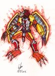 Wargreymon by gordonjugah