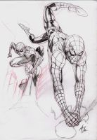 Spider-Man Sketch by EXTronic-AWilson