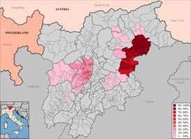 the ladin language in South Tyrol and Trentino by 19North95