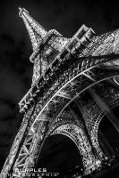 Eiffel Tower by cupplesey