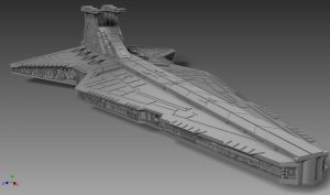 Venator-class Star Destroyer by ExoticcTofu