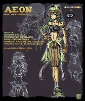 Hero:: Aeon Quinwell by RainbowBile