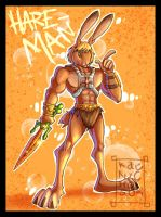 Hare-Man by Kat-Nicholson
