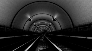 Subway tunnel by MissSweeda