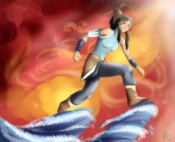 Over the Wave by VeritoRojas