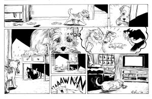 dog story commission by davechisholm