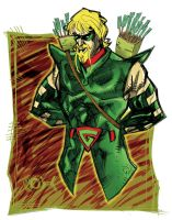 Green Arrow by johjames