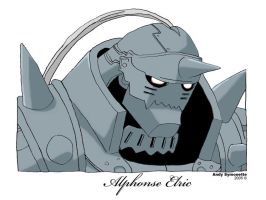 Alphonse Elric Solo by Andy721