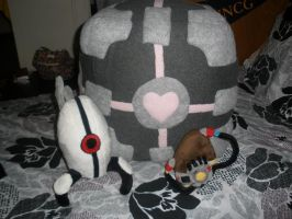 All Portal Plush Together by GlacideaDay