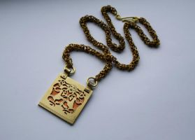 Sutton Hoo chain by merovech-navarre