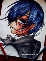 Ciel Phantomhive [as a Titan] by DoreiShounen
