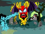 Lord of the underworld frylock by Makinita