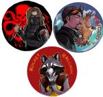 Marvel buttons 1 by saeto15