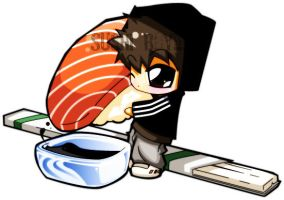 sushi boy by kapao