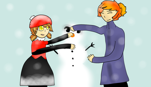 Do You Want To Build a Snowman? by bachurie