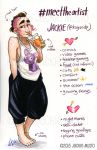 #MeettheArtist by Jackie-M-Illustrator
