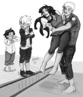 Naruto Family by weeplz