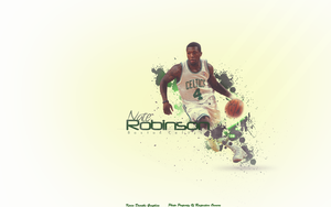 Nate Robinson Wallpaper by KevinsGraphics