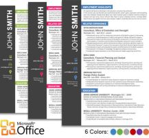 Office Resume Template by trendyresumes