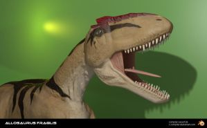 Allosaurus in Blender - 20130809c by c-compiler