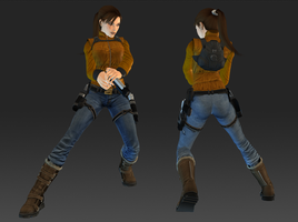Outfit from uncharted 2 by sk8terwawa
