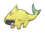 Lemon Land Shark by AllRocksGoToHeaven