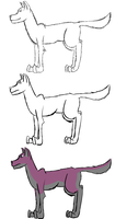 Stages of my Drawing by Spork-san