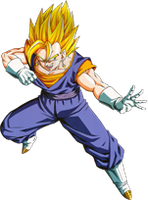 Render de Vegeto SSJ by Gokunks